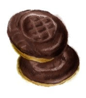 Jaffa Cake Graphic
